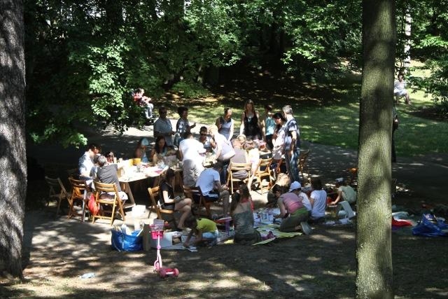 Park Oliwski - Parkowanie