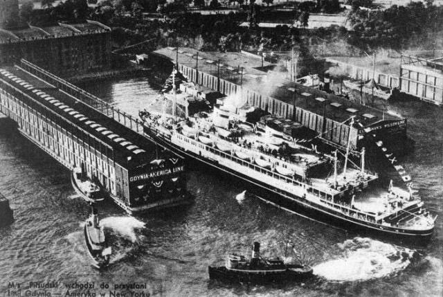 MS Piłsudski, Nowy Jork, 1938 r.