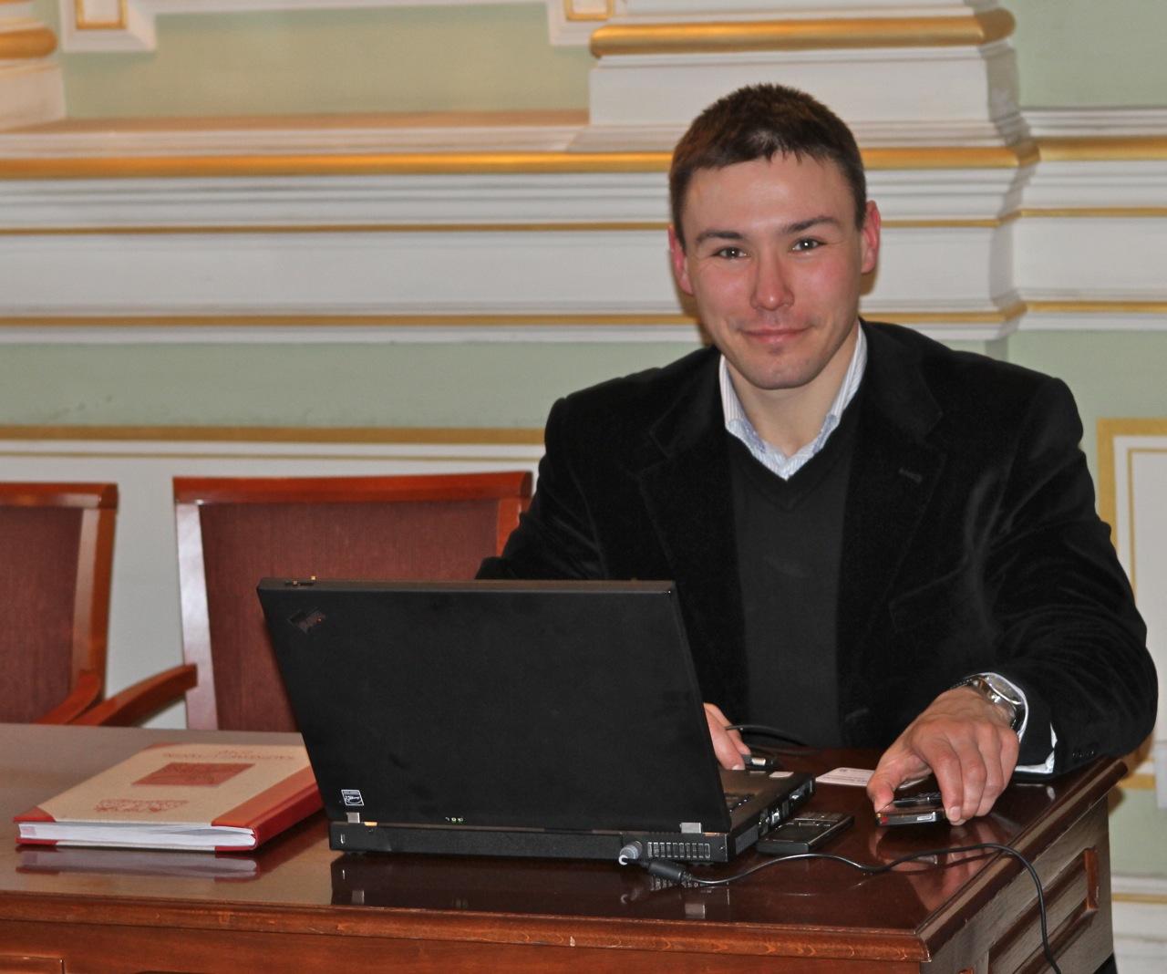 Radny Gdańska Maciej Krupa