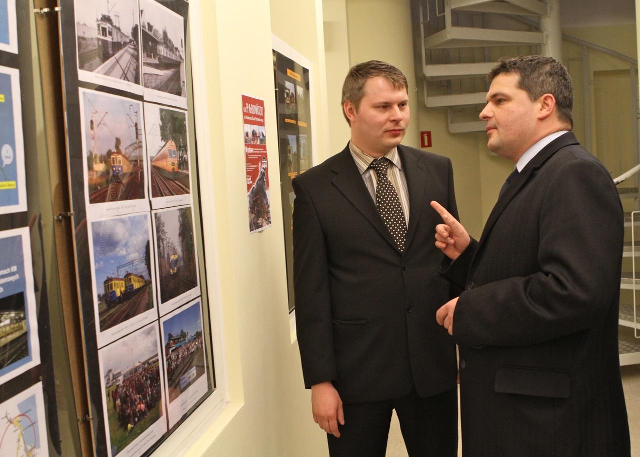 Adam Kaszubowski i wiceprezydent Sopotu
