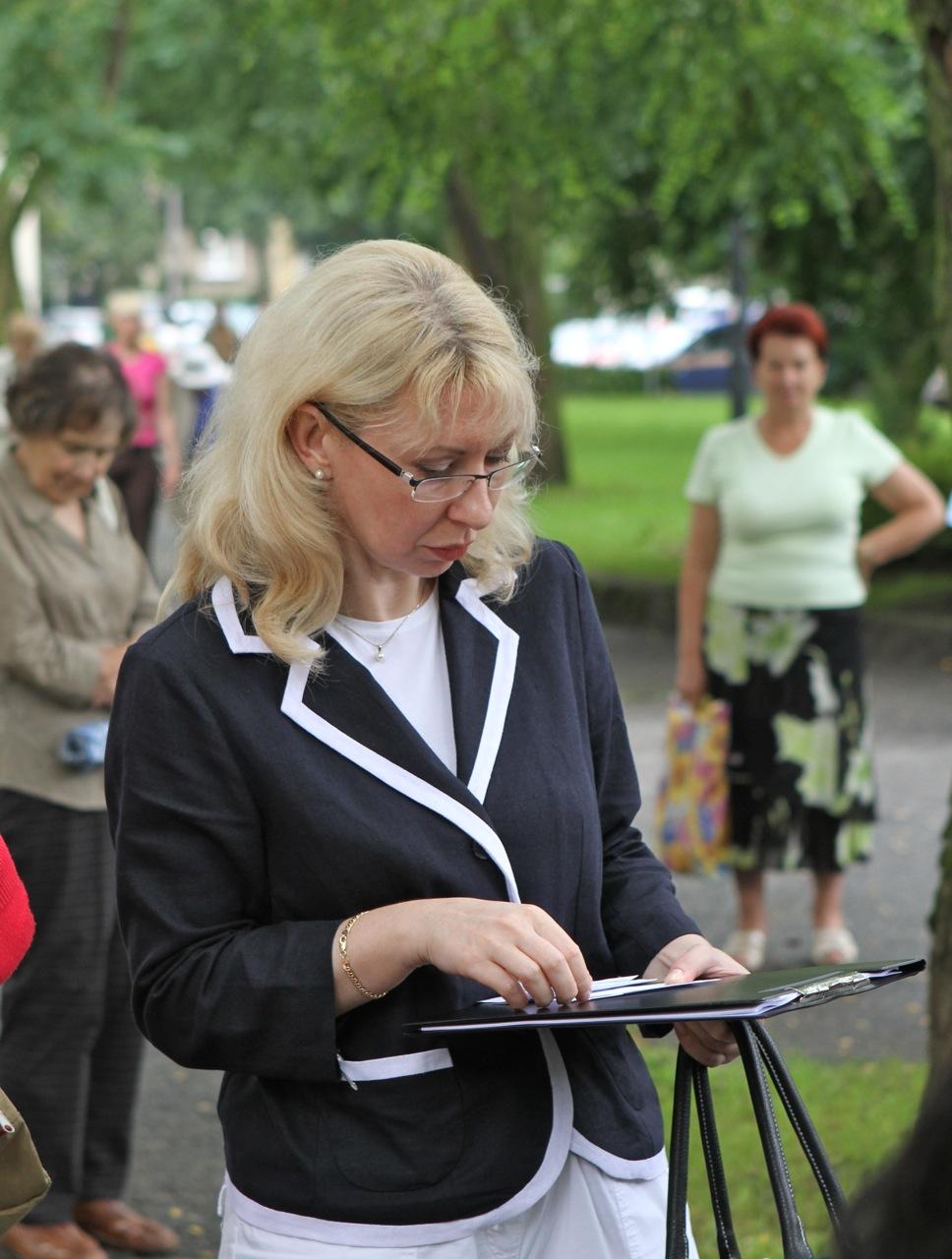 Uroczystość pod pomnikiem gen. Stanisława Maczka