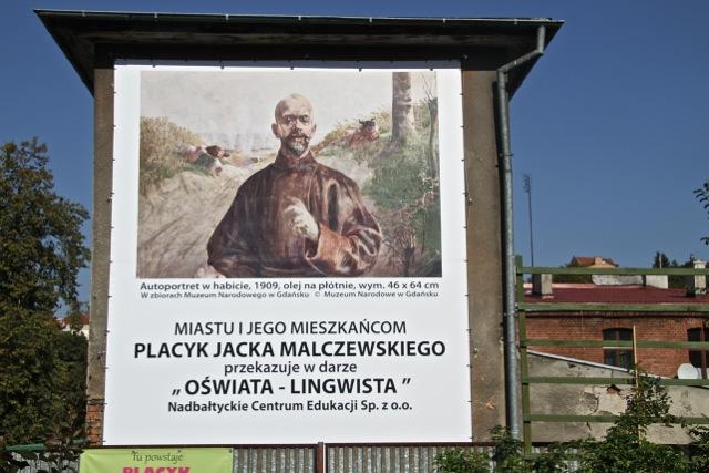 Placyk im. Jacka Malczewskiego - otwarcie