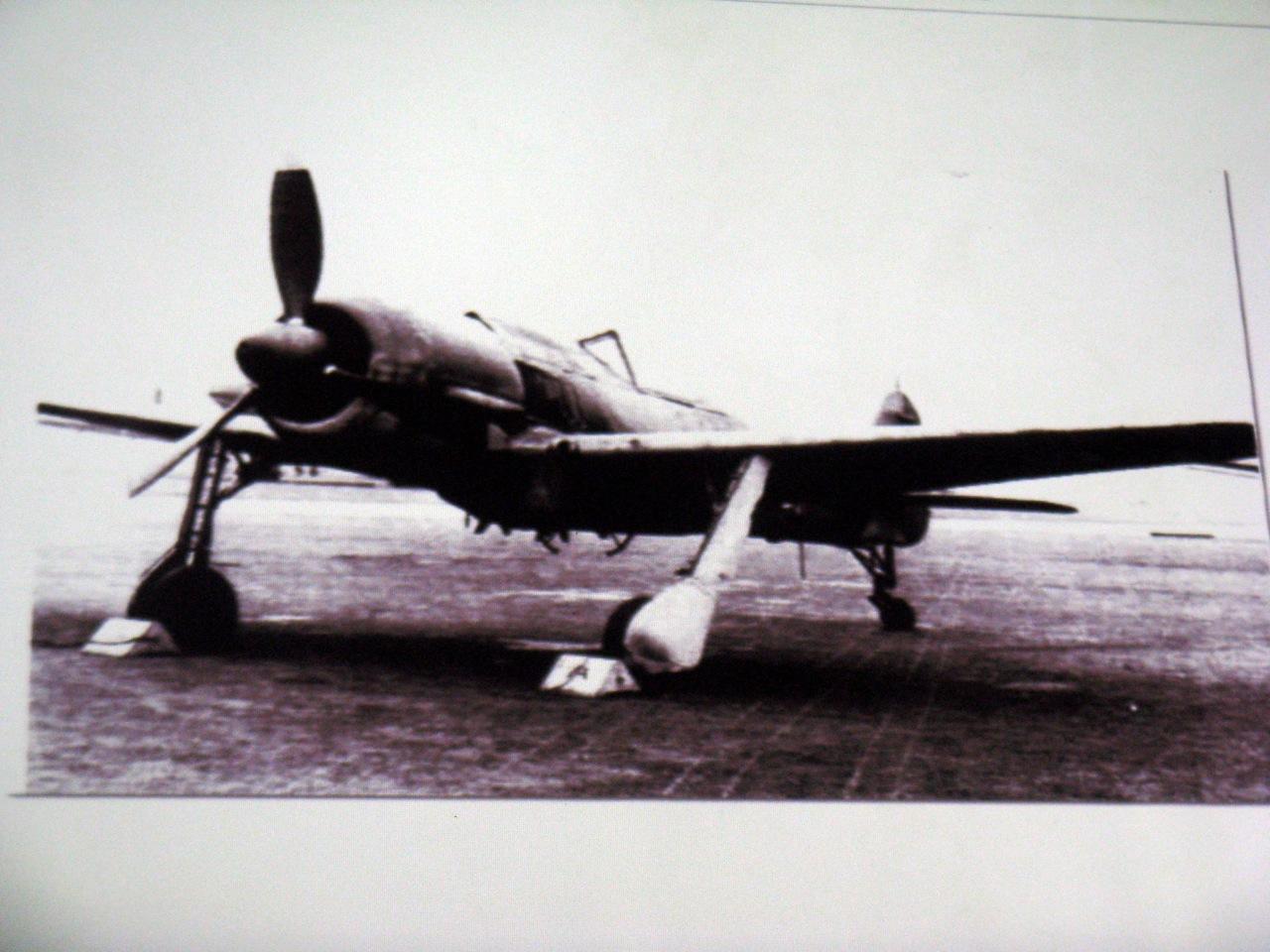 Jeden z samolotów III Rzeszy Niemieckiej