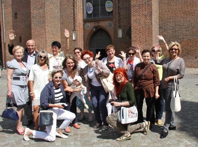 Forum Kobiet Biznesu zwiedzanie Gdańska