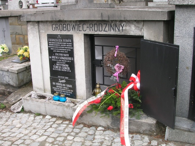 Grobowiec Franciszka Sokoła