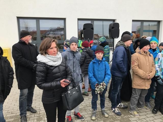 Kamień graniczny w Gdańsku Kokoszkach