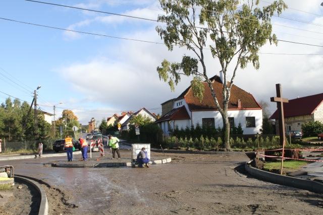 Rondo w Gdańsku Kiełpinie Górnym
