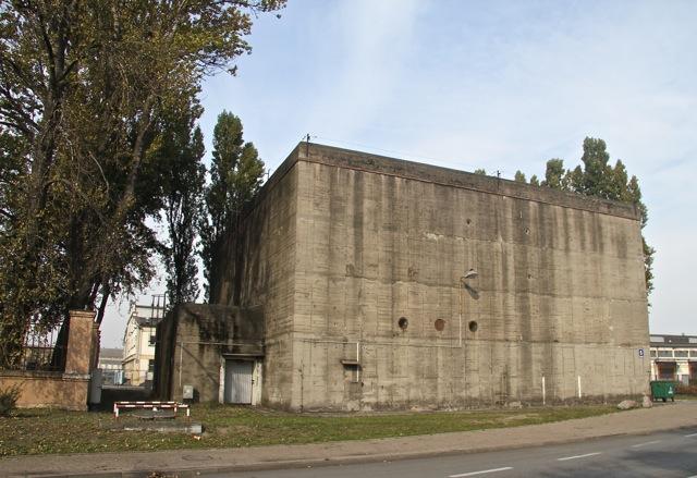 Gdynia - schron z czasów II wojny światowej