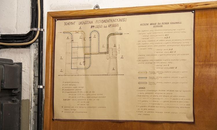 Oryginalny schemat urządzenia filtrowentylacyjnego