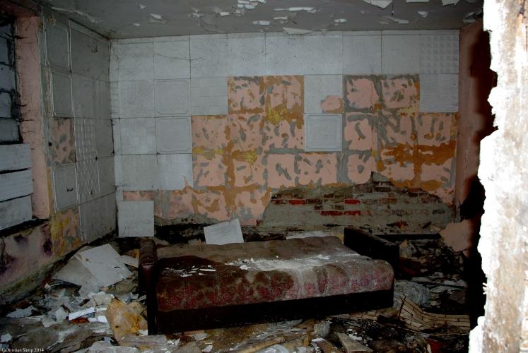 Pomieszczenie budynku nr 8