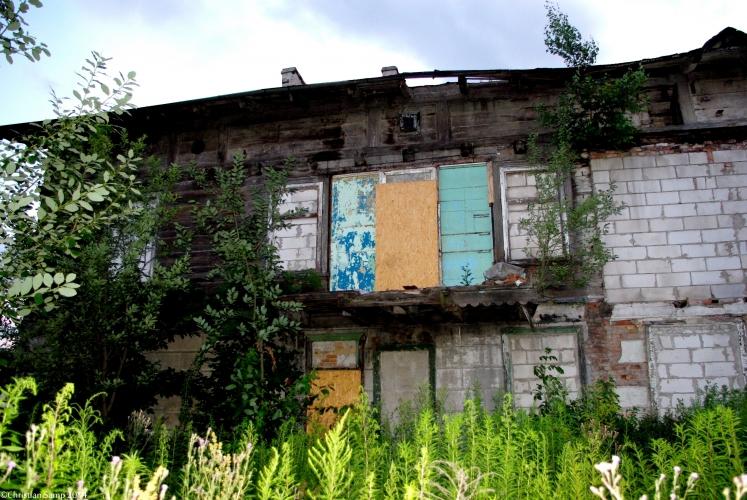 Tył domu nr 8