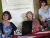 Z prawej prof. Ewa Nawrocka, z lewej Katarzyna Korczak