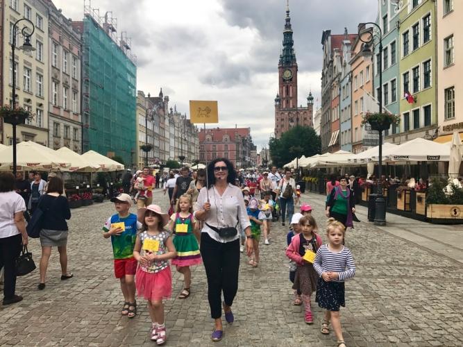 Spacer śladami gdańskich lwów - 2017