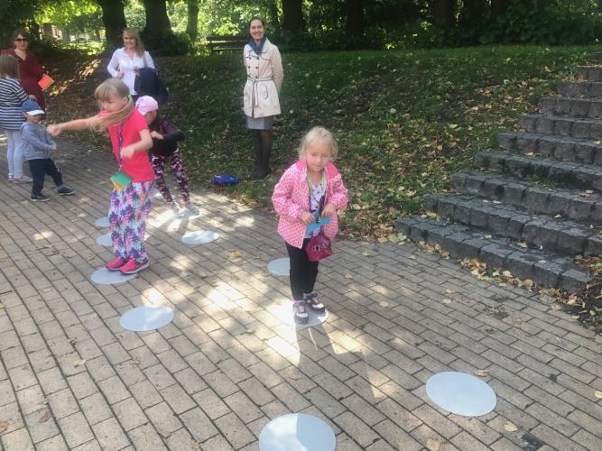 Dolny Wrzeszcz - spacer z dziećmi
