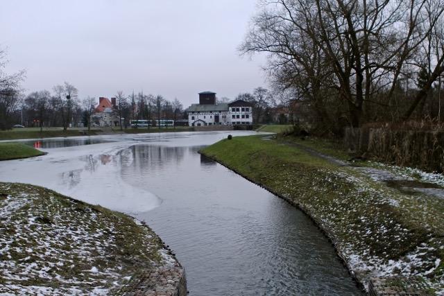 Staw Młyński w Gdańsku Oliwie
