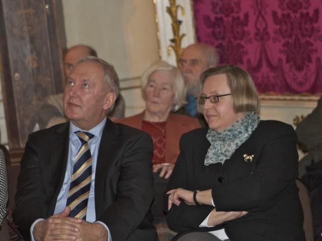 Prezentacja świecznika w Domu Uphagena