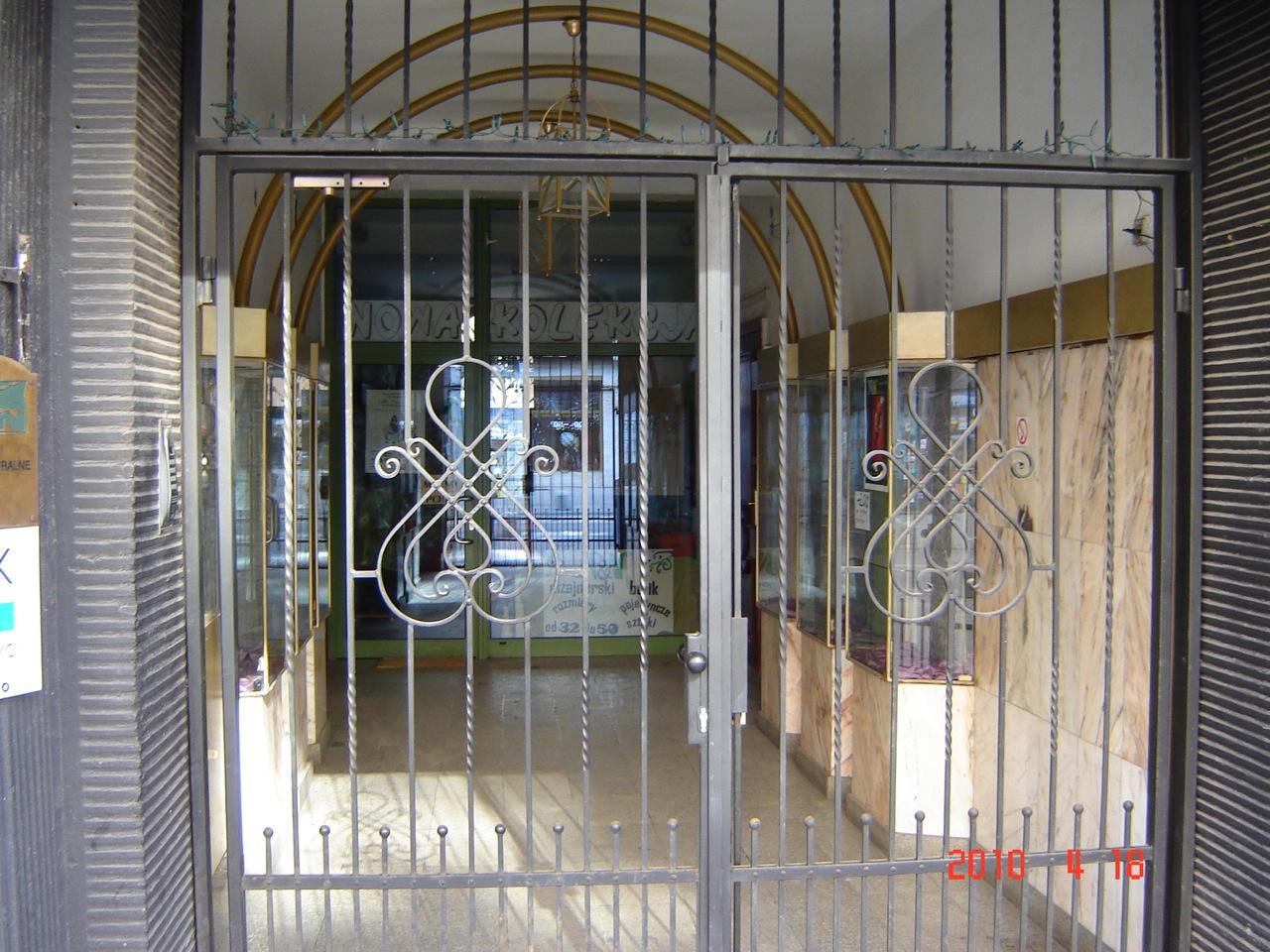 Butik w bramie
