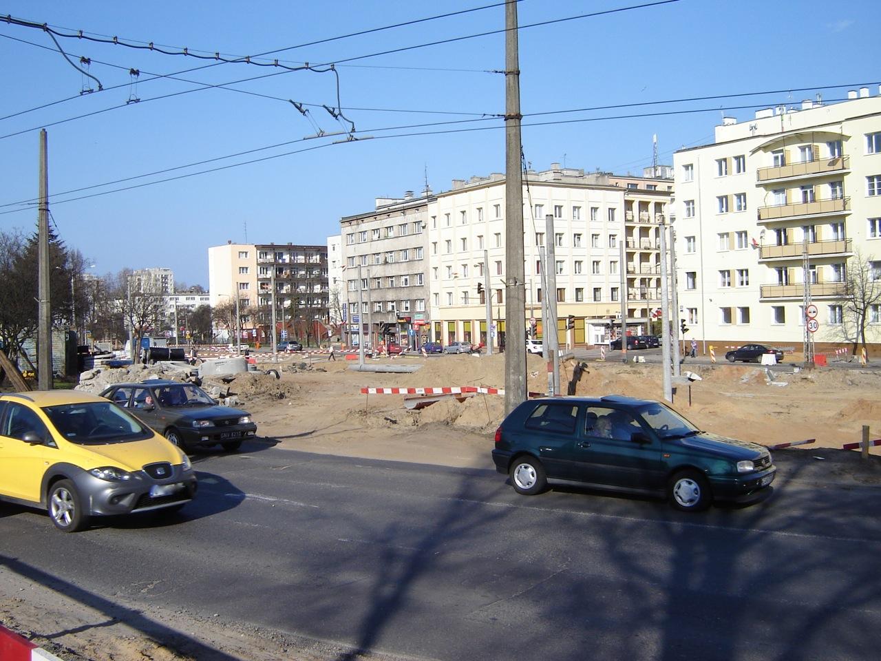 Rozkopana ulica