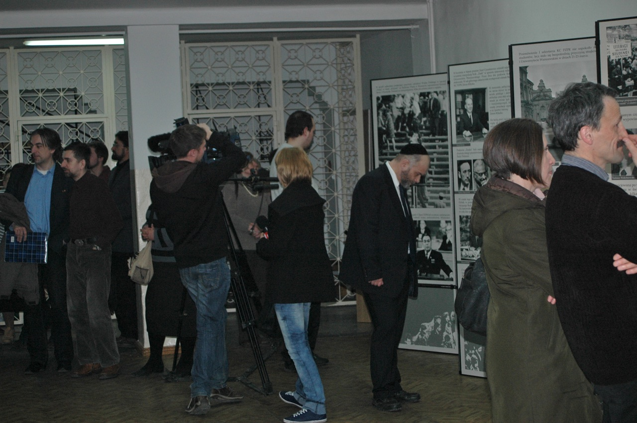 Zwiedzanie wystawy Marzec\'68