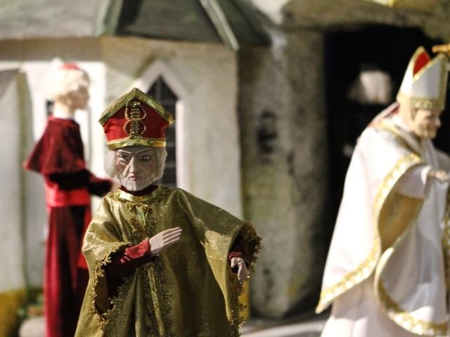 Szopka w kościele św. Trójcy w Gdańsku