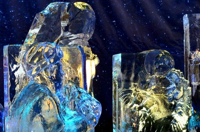 Szopka z lodu