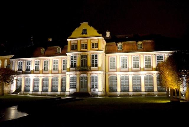 Gdańsk Oliwa nocą