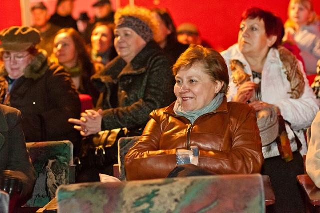 Zachwycona publika