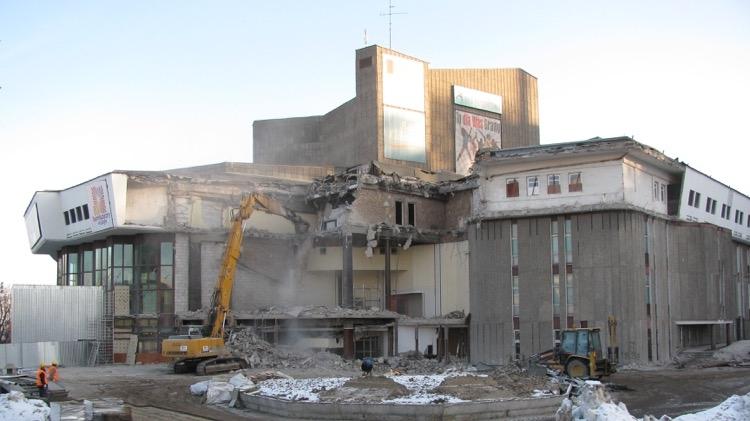 Teatr Muzyczny podczas przebudowy, 31 stycznia 2011 r..jpg