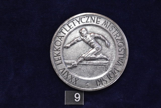Jeden z licznych medali zdobytych przez Eugenię Rusin-Ciarkowską