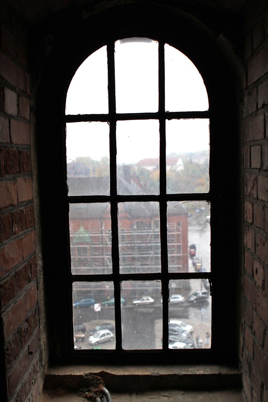 Wieża zegarowa Dworca Głównego w Gdańsku