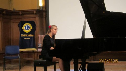 Anna Szałucka - fortepian