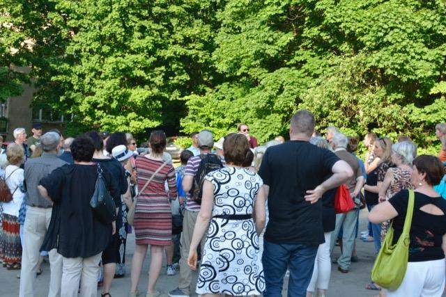 Spacer po Parku Jaśkowej Doliny / Fot. Łukasz Kołodziej
