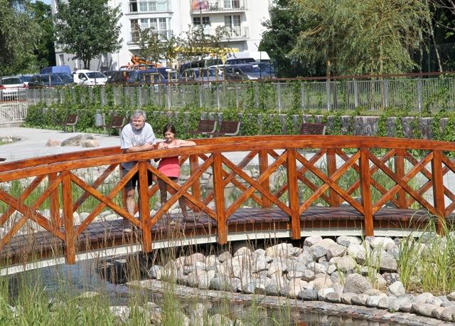 Zbiornik retencyjny - Sopot Karlikowo