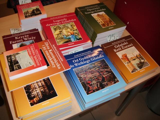 Złota Kamieniczka - promocja książki