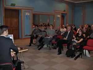 Podczas spotkania na Politechnice Gdańskiej