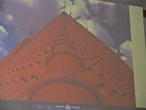 Część nowego dachu na świątyni