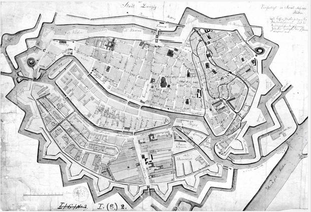 Południowe fortyfikacje Gdańska, 1809 rok