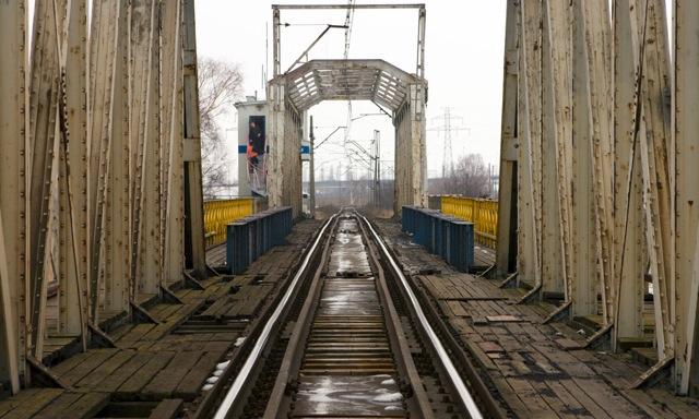 Most nad Martwą Wisłą