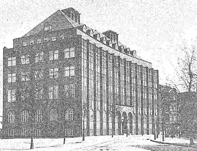 Budynek Kasy Chorych 1927 r.