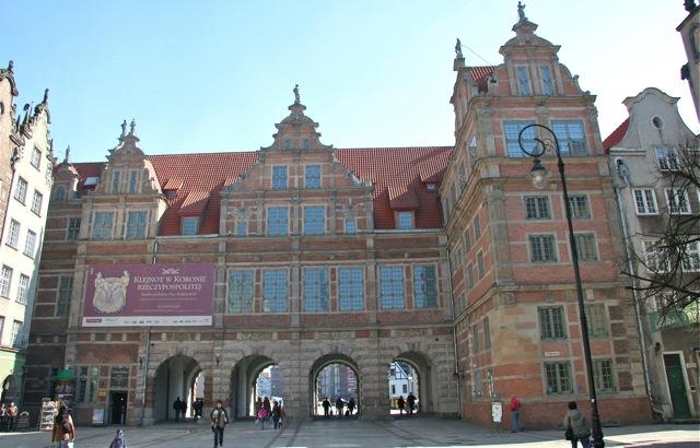 Królewska rezydencja w Gdańsku - Zielona Brama