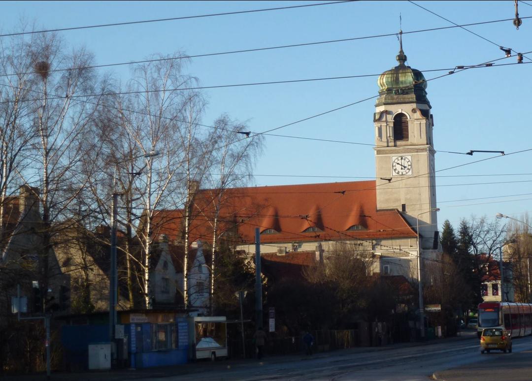 Kościół przy ul. Mickiewicza w Gdańsku