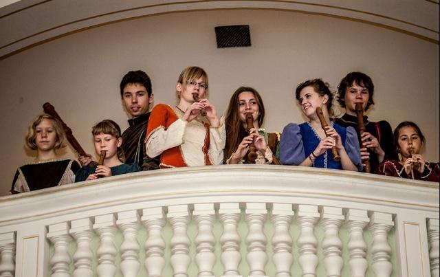 Zespół Il flauto dolce i Piccolo z Pałacu Młodzieży w Gdańsku