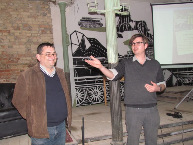 Od lewej: Piotr Mazurek i Marek Barański