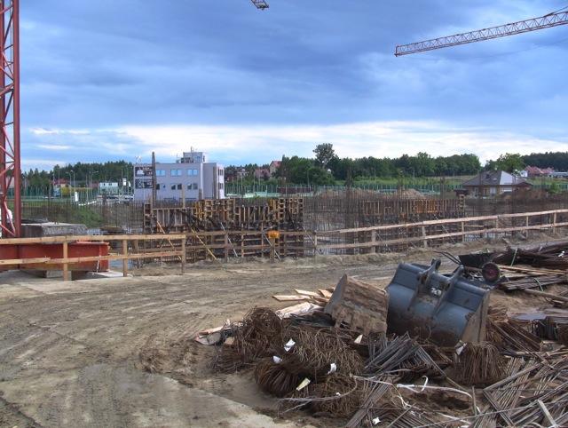Gdańsk Karczemki szkoła w budowie