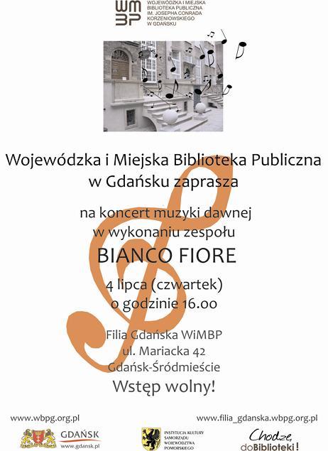 PLakat_Bianco Fiore