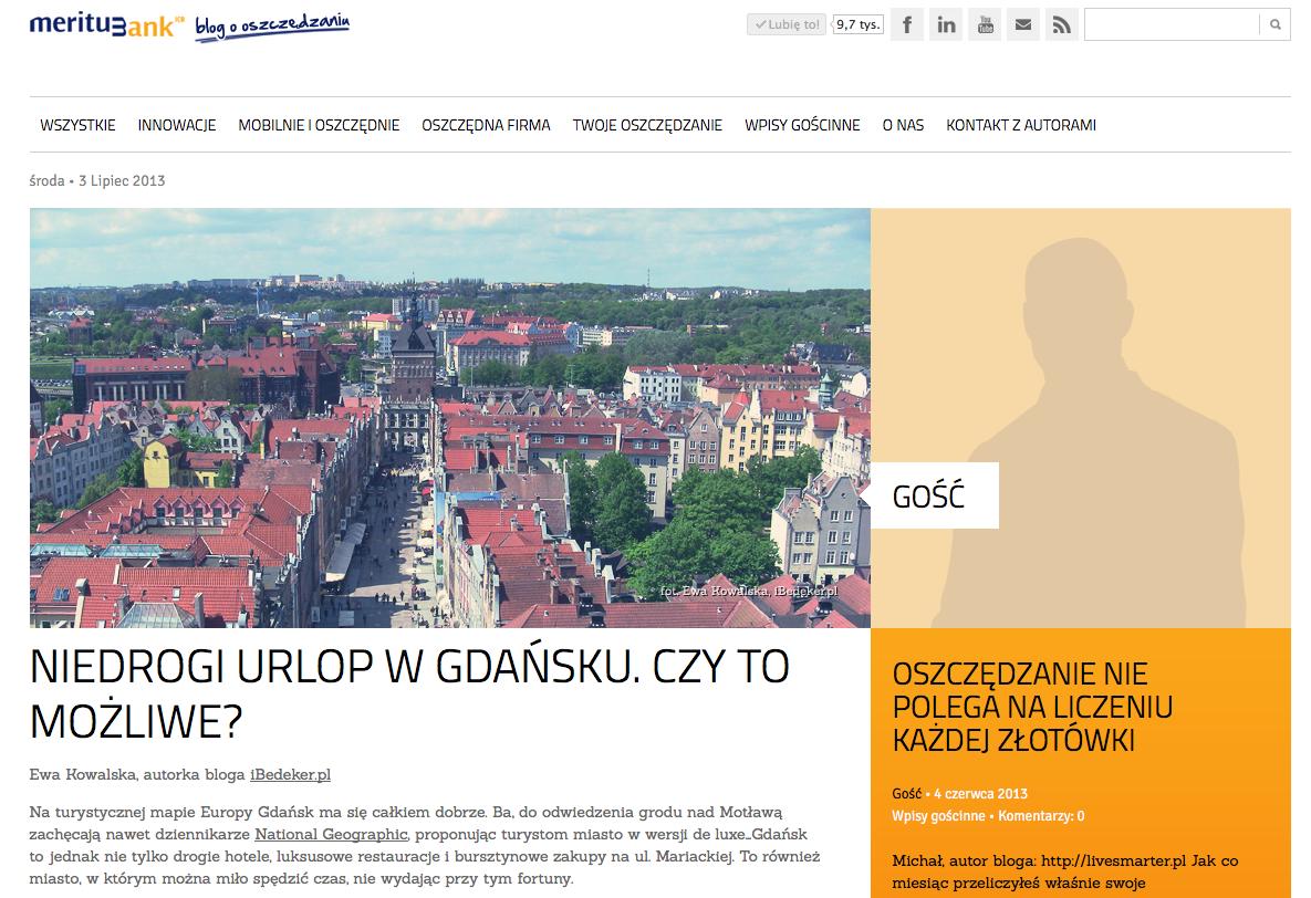 Gdańsk urlop