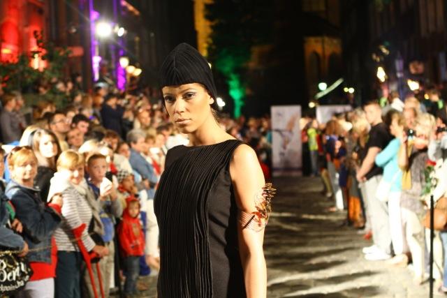 Święto ulicy Mariackiej - pokaz mody