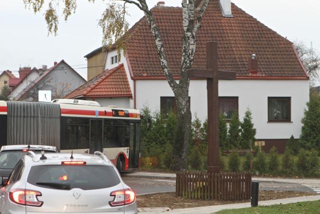 Rondo w Gdańsku Kiełpinie Górnym - 22 października 2013 r.