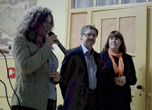 Od lewej: Lidia Makowska, Jakub Szczepański, Katarzyna Szczepańska