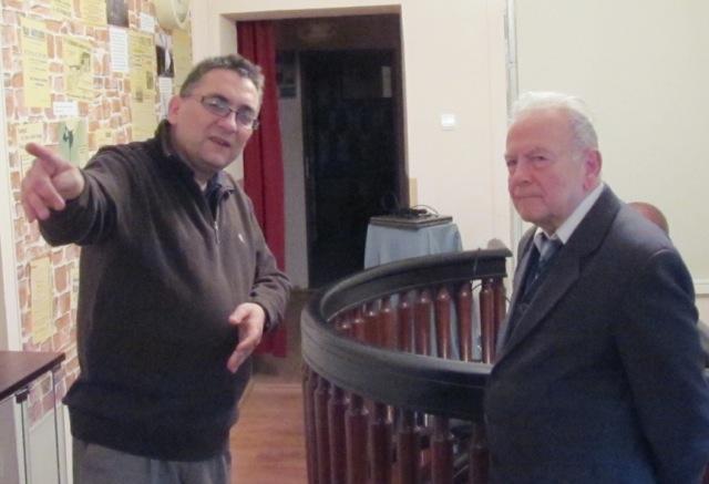 Od prawej: Andrzej Januszajtis i Piotr Mazurek